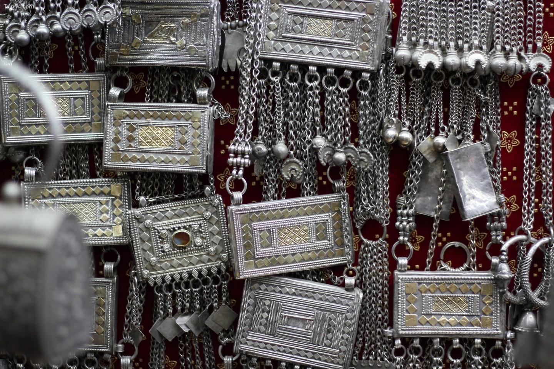 Trang sức bạc Oman