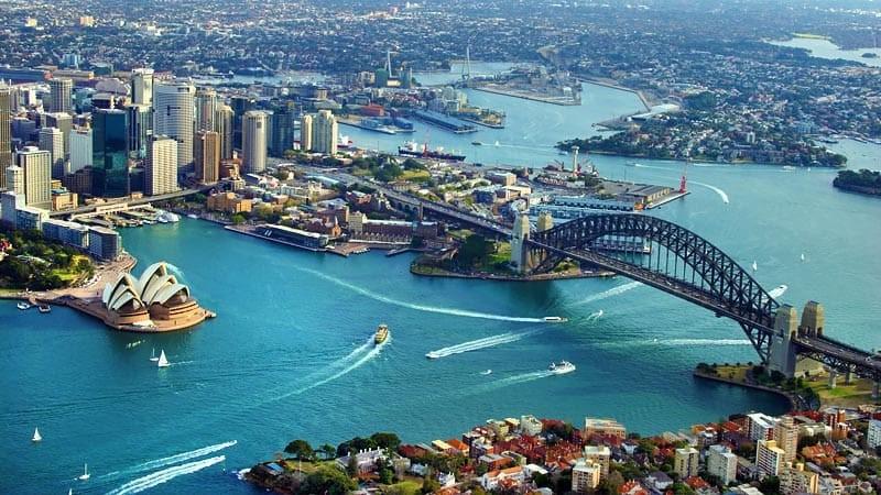 Thuê trực thăng ngắm cảnh thành phố Sydney từ trên cao - Ảnh 6