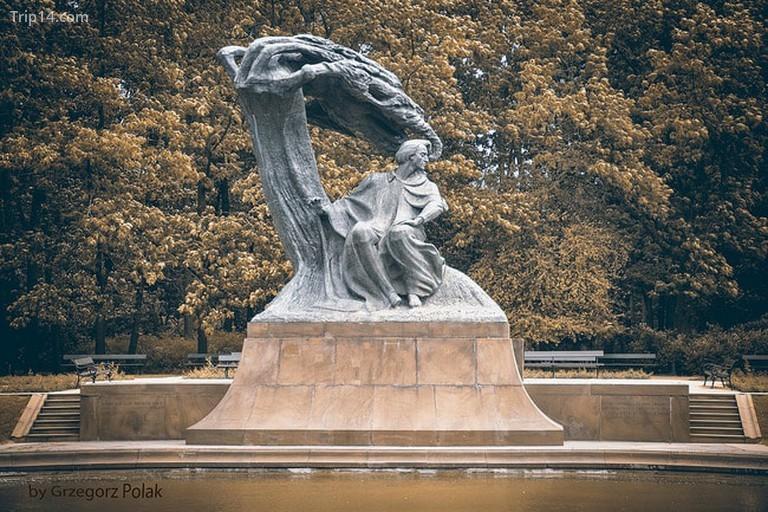 Tượng Frederic Chopin ở Warszawa, Ba Lan