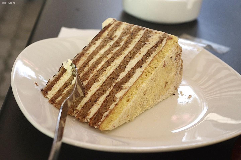 Bánh torta Eszterházi