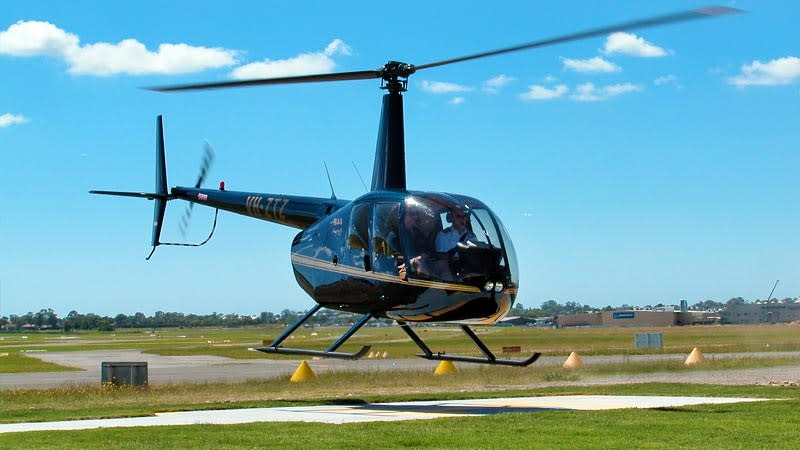 Thuê trực thăng ngắm cảnh thành phố Sydney từ trên cao