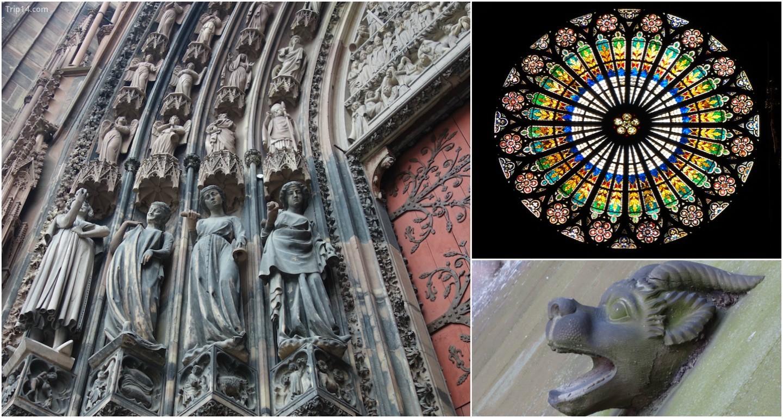 Từng chi tiết của Nhà thờ Strasbourg đều là những kho báu vô giá
