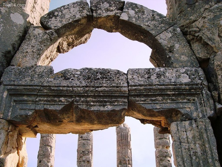 Đền thờ thần Zeus, Uzuncaburç © HALUK COMERTEL / Wikimedia Commons