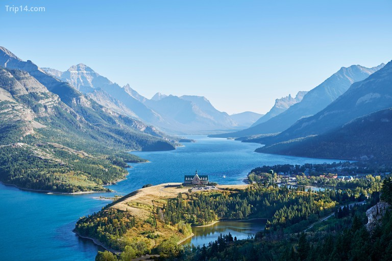 Vườn quốc gia Waterton Lakes, Canada