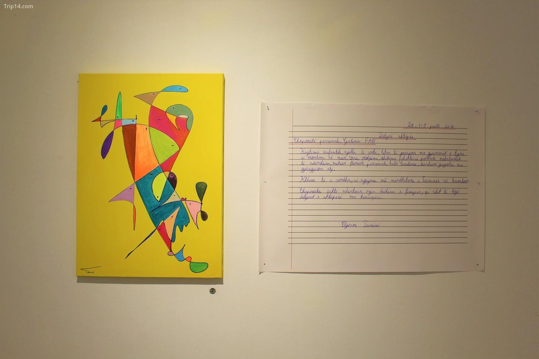 Tác phẩm của Eljan Tanini tại Galeria Fab, Tirana   |