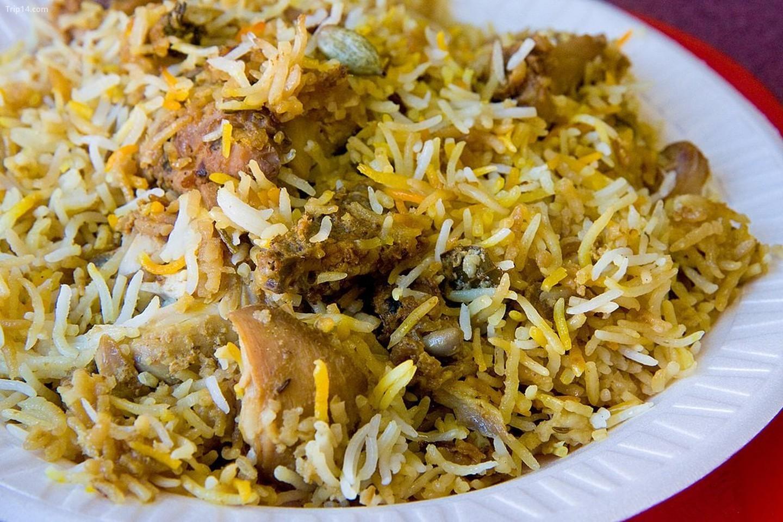 Hyderabadi gà Biryani    