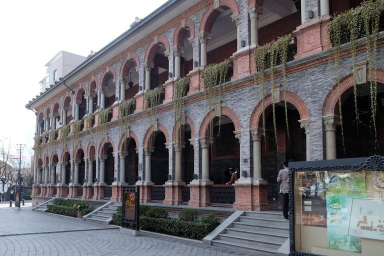 Khách sạn Massenet tại Sinan Mansions tại 51 Sinan Road (Sinan Lu), quận Huangpu ở Thượng Hải, Trung Quốc, ngày 27 tháng 2 năm 2016. - Trip14.com