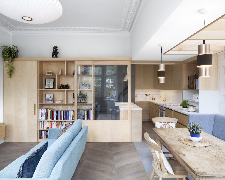 TDO Architect đã tạo ra một giải pháp riêng cho không gian thiết kế mở này   |