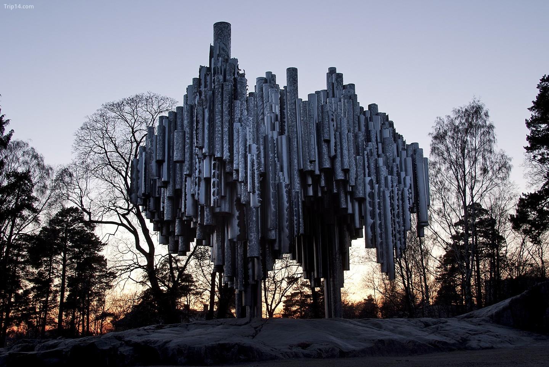 Tượng đài Sibelius ở Helsinki / Kimmo Räisänen / Flickr