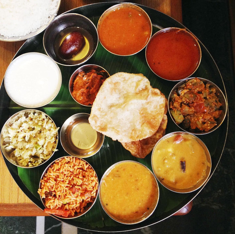 Hyderabadi Veg Thali    