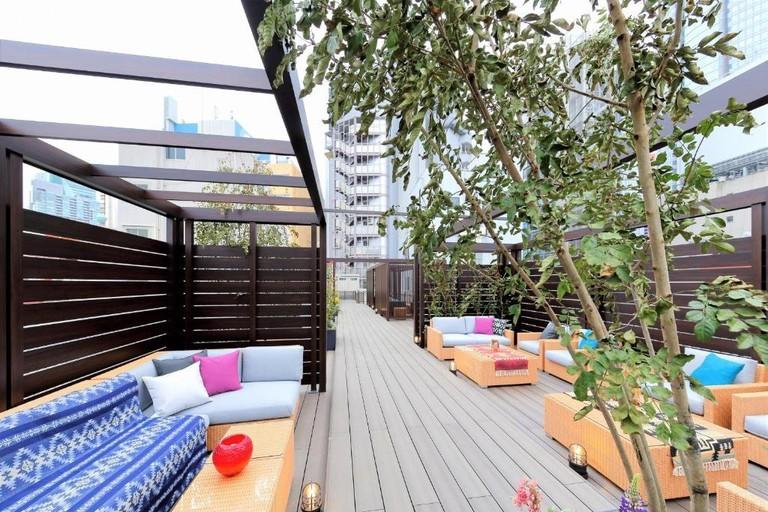 Sân thượng Act Hotel Roppongi