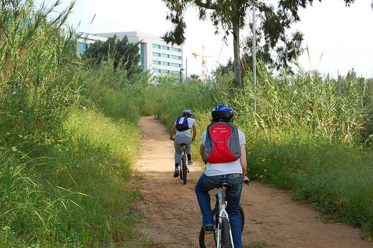 Người đi xe đạp © Eli Brody / Flickr