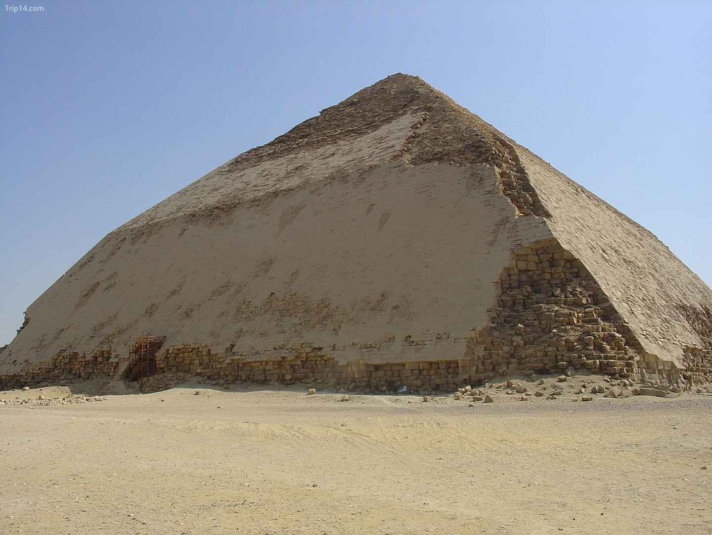 Kim tự tháp Bent ở Dahshour   |