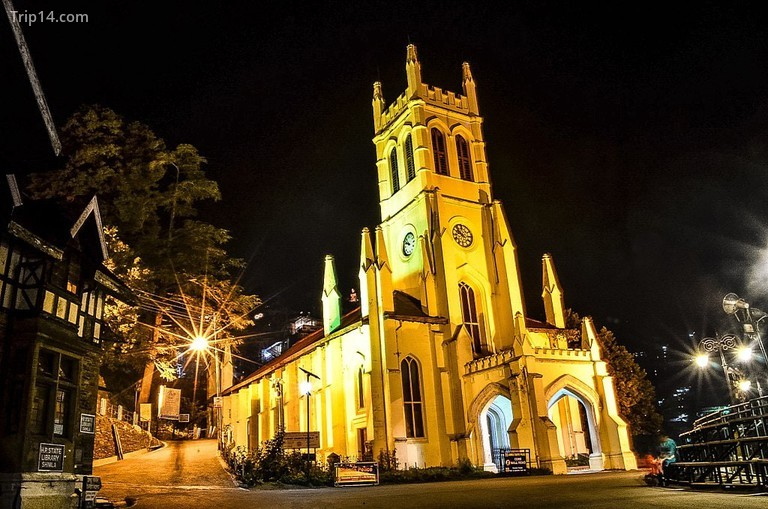 Nhà thờ Chúa Kitô © Sheetaljit / Wikimedia Commons
