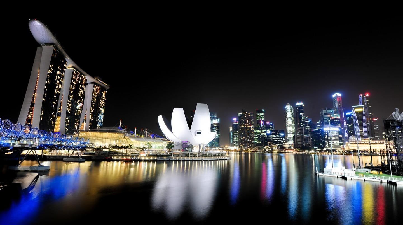 15 bức ảnh tuyệt đẹp về đêm của Singapore