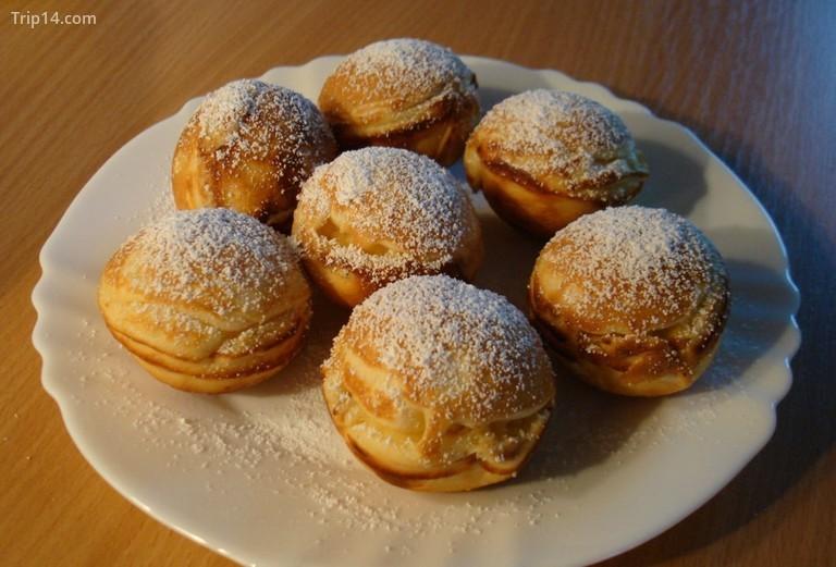 Aebleskiver bánh ngọt Đan Mạch - Trip14.com