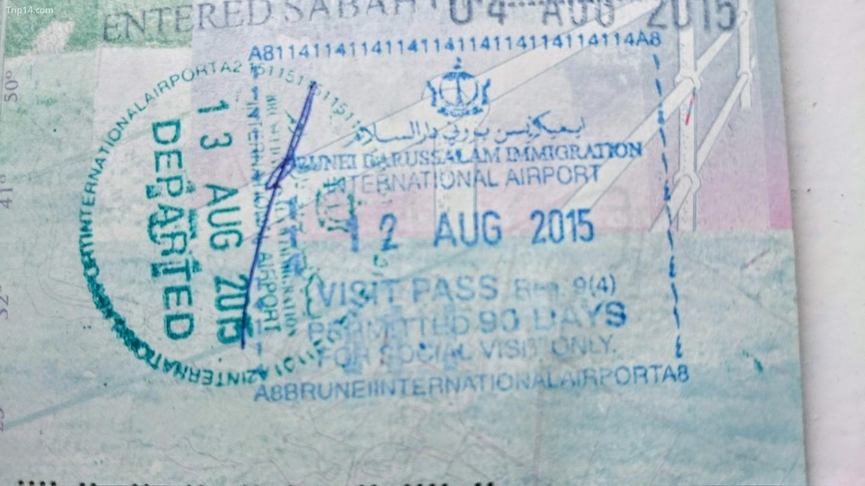 Brunei cung cấp thị thực 14, 30 hoặc 90 ngày khi đến tùy thuộc vào quốc tịch của bạn