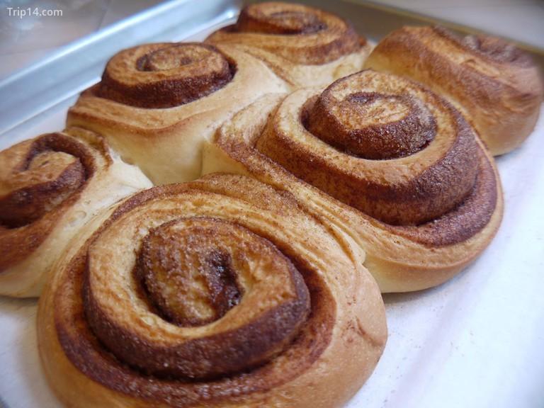 Bánh quế cuộn kanelsnegle