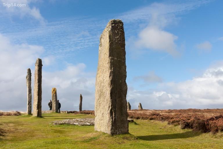 Ring of Brodgar là một vòng tròn đá và vòng tròn thời kỳ đồ đá mới ở Scotland