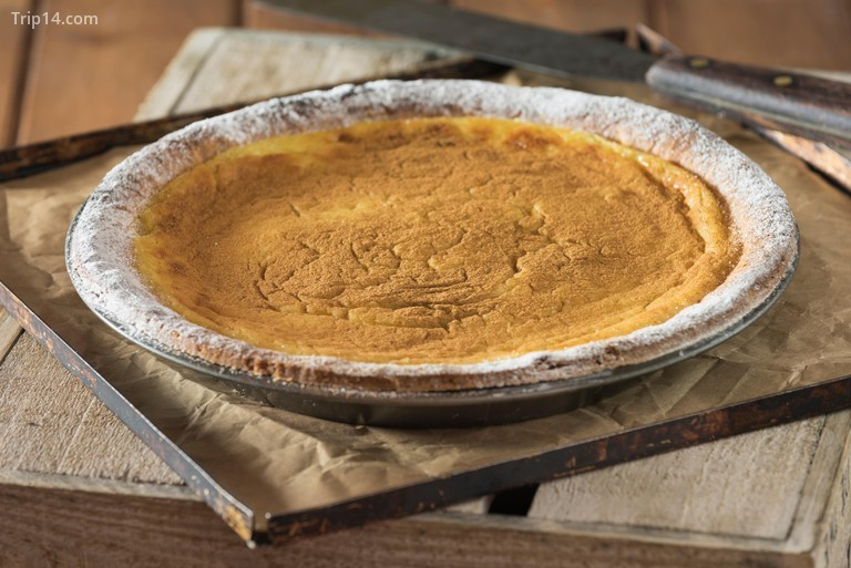 Bánh tart sữa ngon nhất khi được ướp lạnh, ăn giống như ăn kem