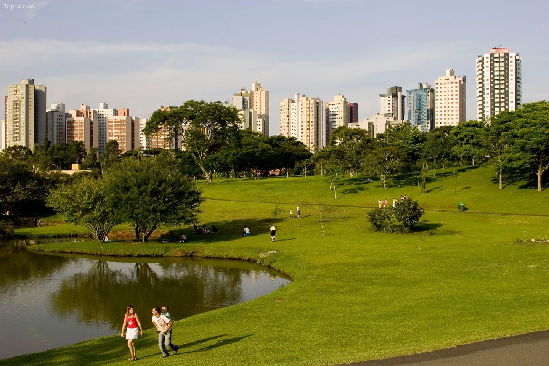 Công viên Barigui tại Curitiba