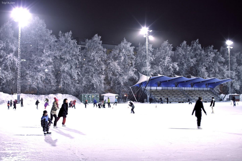 Sân trượt băng công cộng   |