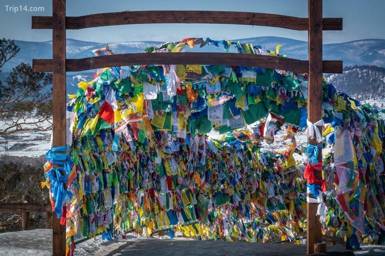 """Datsan """"Rinpoche Bagsha"""" ở Ulan Ude, Siberia, Nga"""