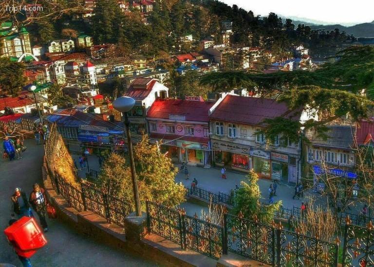 Quang cảnh Lãng mạn của Đường Mall, Shimla © Jannat-e-Shimla / Facebook
