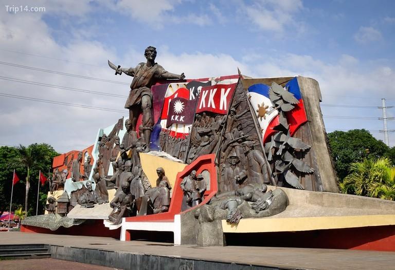Đài tưởng niệm Katipunan (KKK) tại Manila, Philippines - Trip14.com