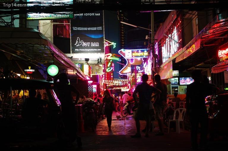 Phố đèn đỏ ở Thái Lan