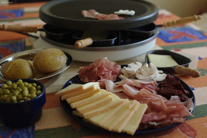 Chuẩn bị cho raclette    