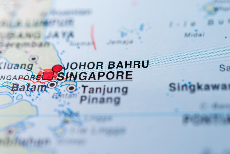 Singapore, một chấm đỏ nhỏ trên bản đồ thế giới   |