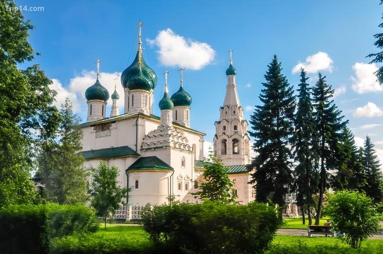 Nhà thờ Tiên tri Elijah, thành phố Yaroslavl, Nga