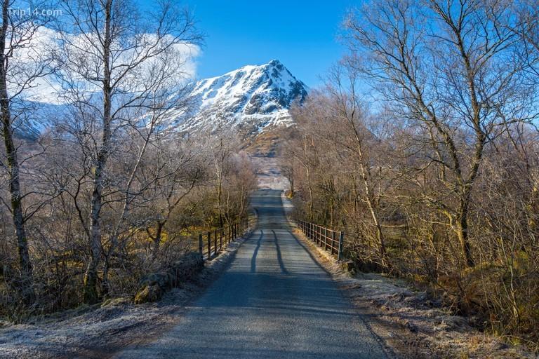 Sron na Creise từ đường Glen Etive, Rannoch Moor, Scotland