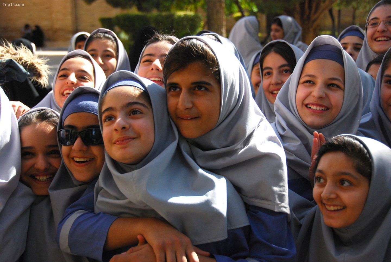 Iran có tỷ lệ dân số trẻ cao