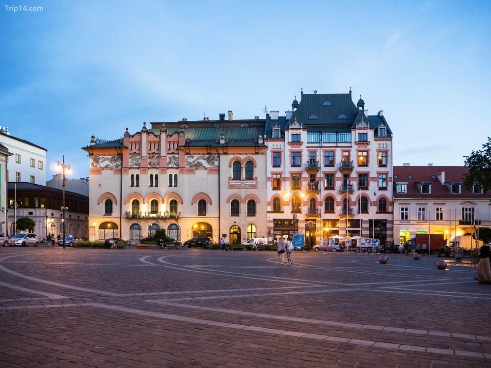 Phố cổ Kraków - Trip14.com