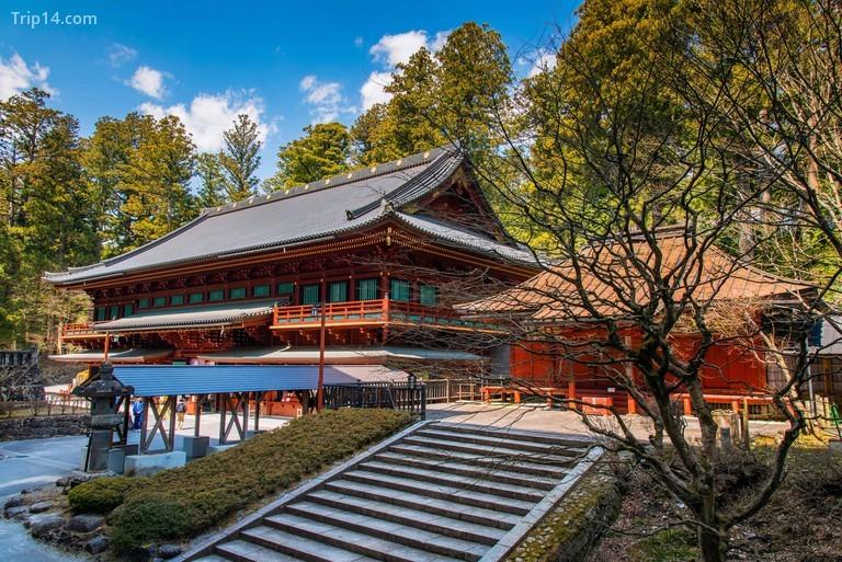 Một ngôi đền ở Nikko