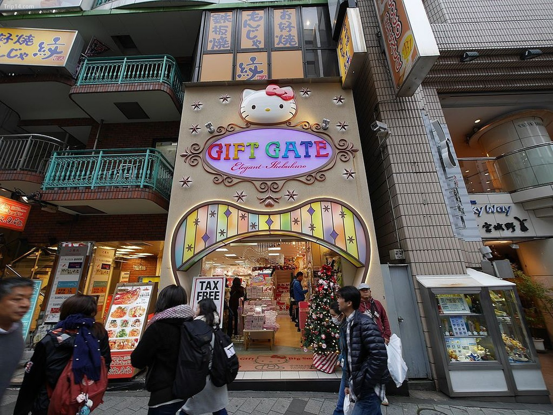 Cửa hàng Cổng quà tặng Sanrio ở Ikebukuro, Tokyo, Nhật Bản