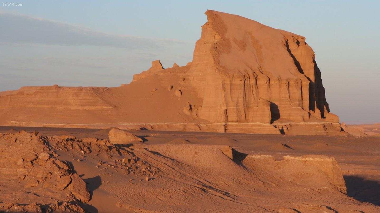 Nhiệt độ ở sa mạc Lut cao kỷ lục