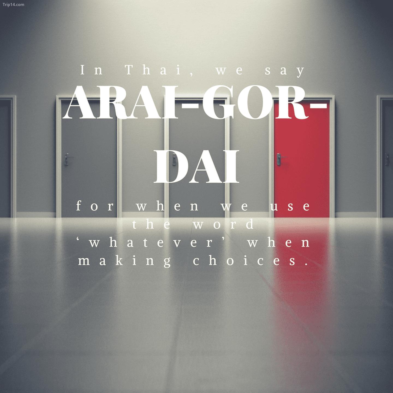 อะไร ก็ได้: Arai-gor-dai