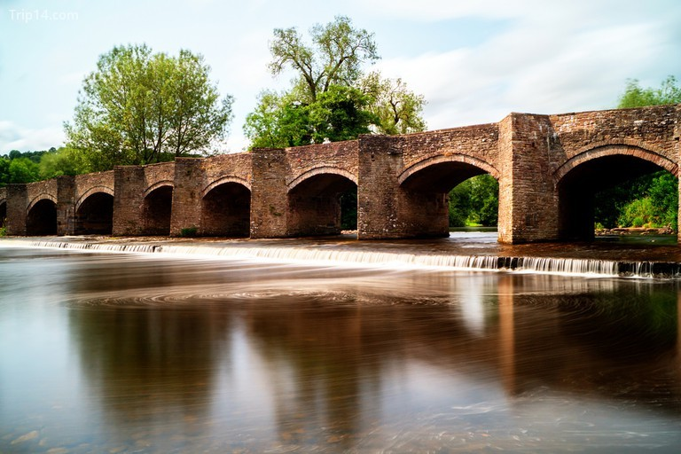 Cầu Crickhowell, Wales © Phil Dolby / Flickr - Trip14.com