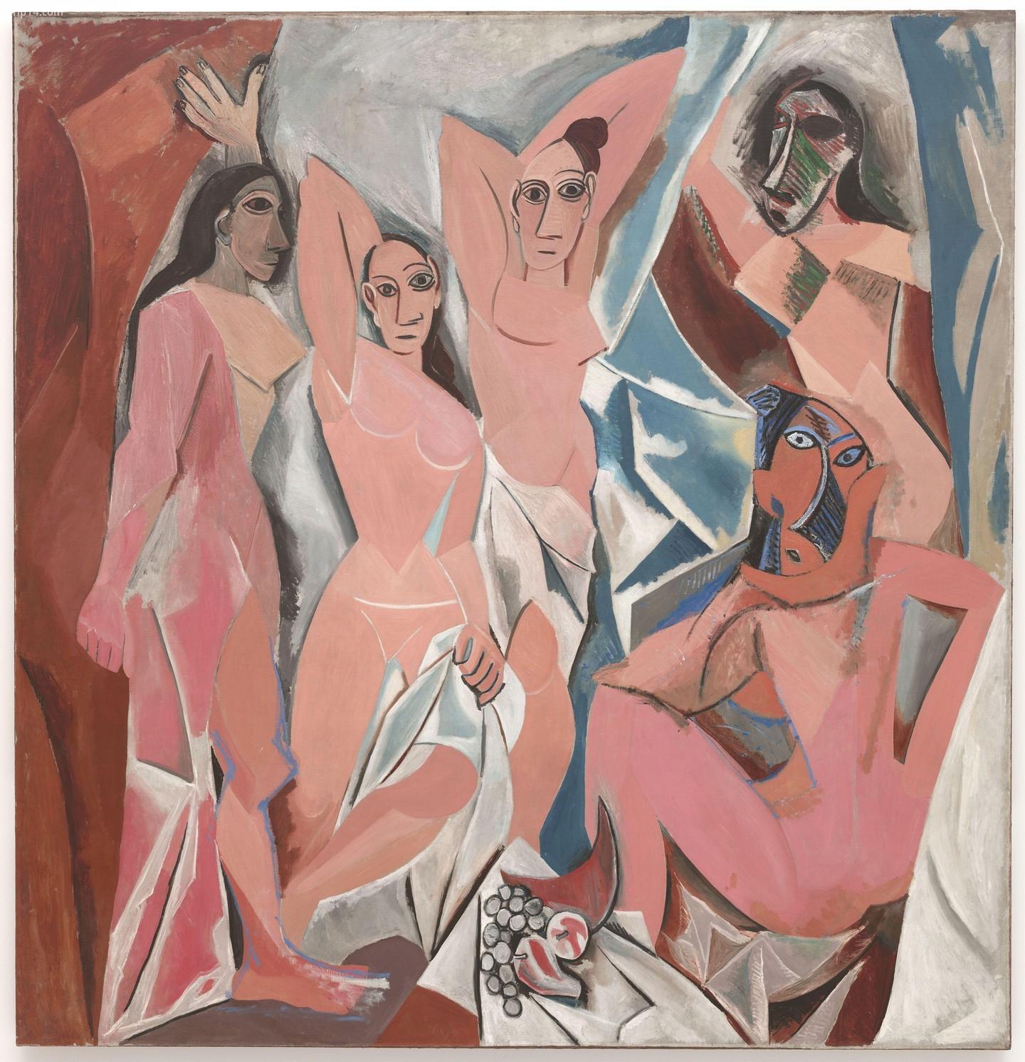 Les Demoiselles d'Avignon của Picasso    