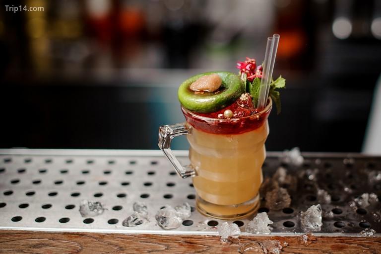 Một ly cocktail mát lạnh cho mùa hè