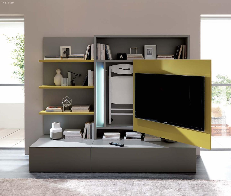 Đồ nội thất có thể biến đổi Smart Living của Ozzio
