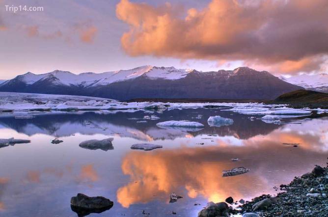 Hồ Jokulsarlon ở Iceland - Trip14.com