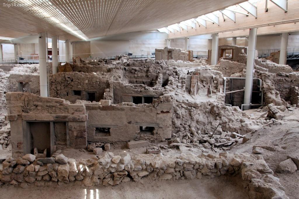 Khu định cư thời tiền sử của Akrotiri, Santorini
