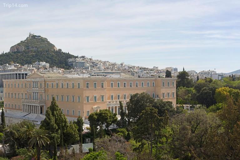 Tòa nhà quốc hội Hy Lạp, Athens