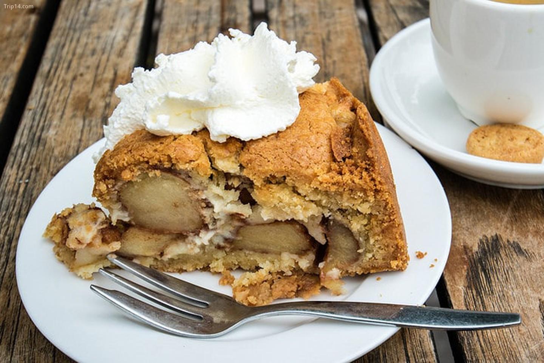 bánh táo tươi Hà Lan - appeltaart