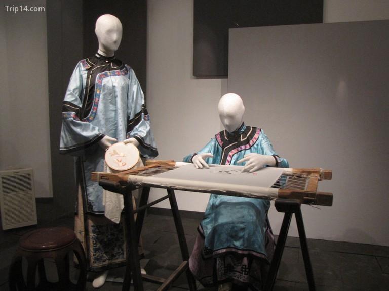 Thêu lụa, Bảo tàng Tơ lụa Trung Quốc