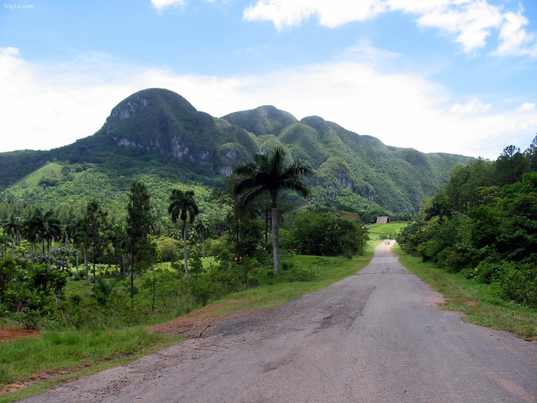 Vùng nông thôn bên ngoài Vinales, Cuba